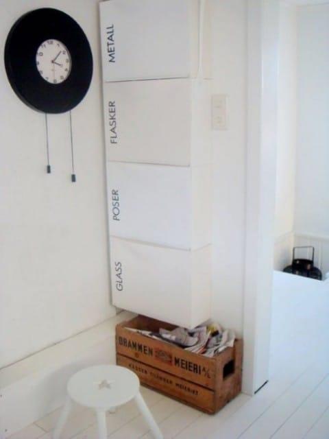 White IKEA Trones unit.
