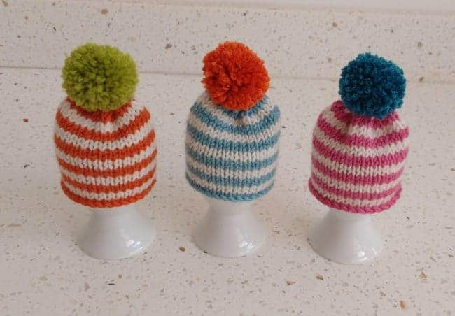 Egg cozy and cozies knitting pattern