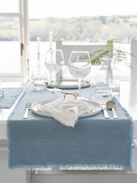 Beautiful blue and white Nordic style for your home