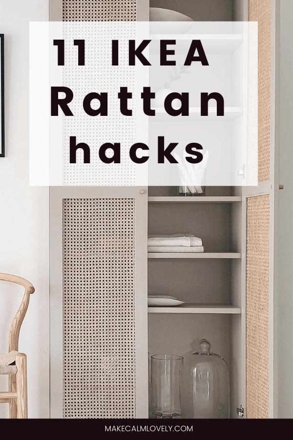 11 IKEA Rattan Hacks