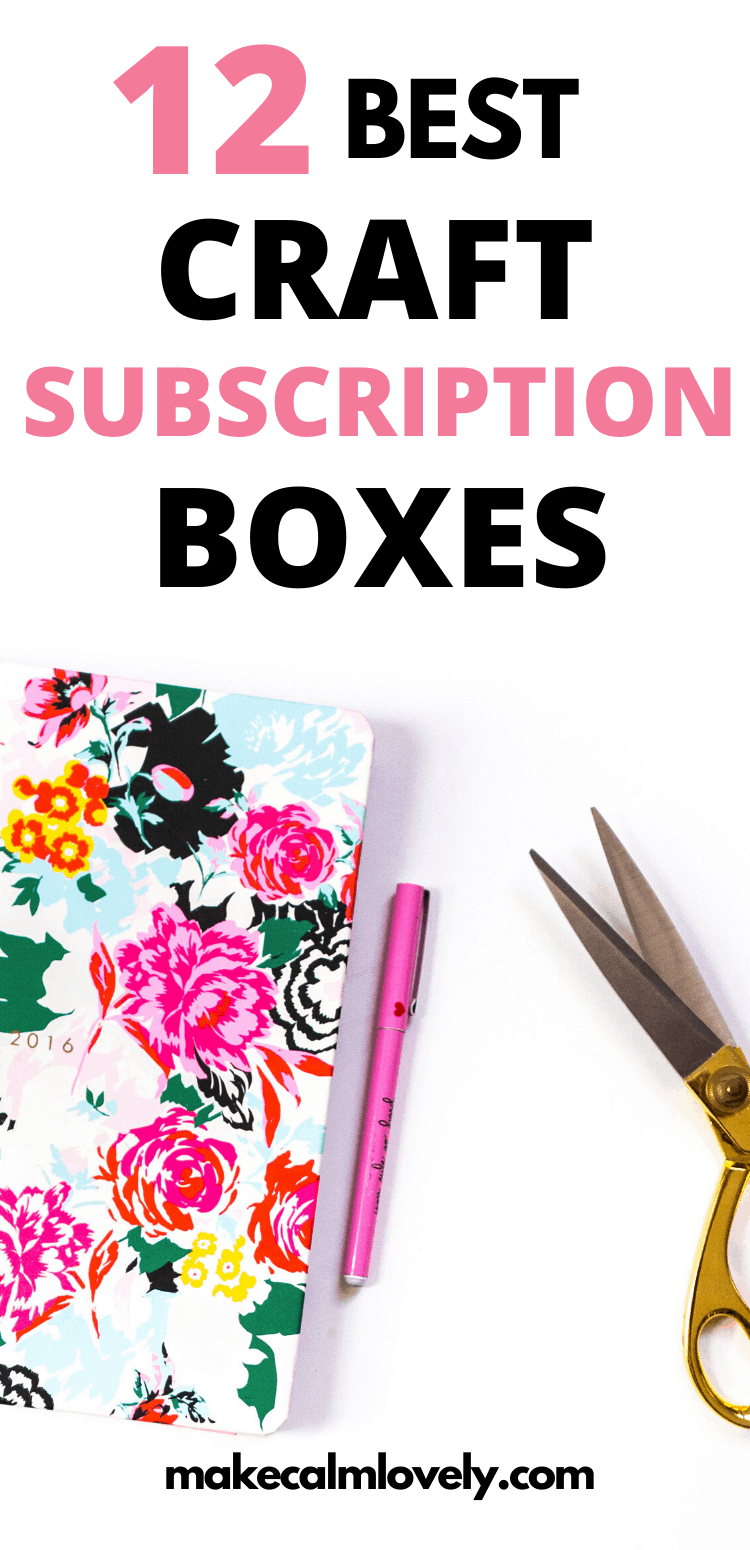 Craft subscription box