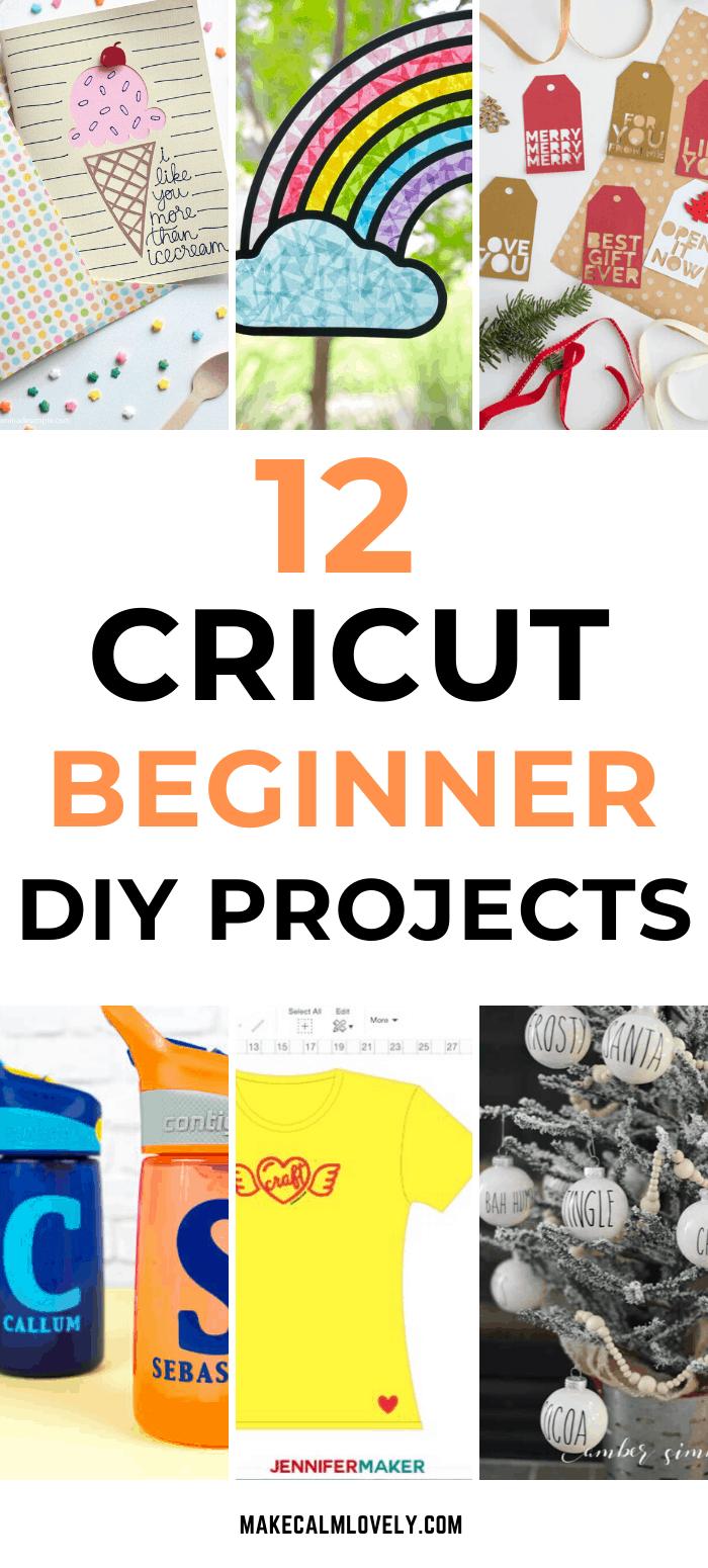 Cricut Beginner Projects
