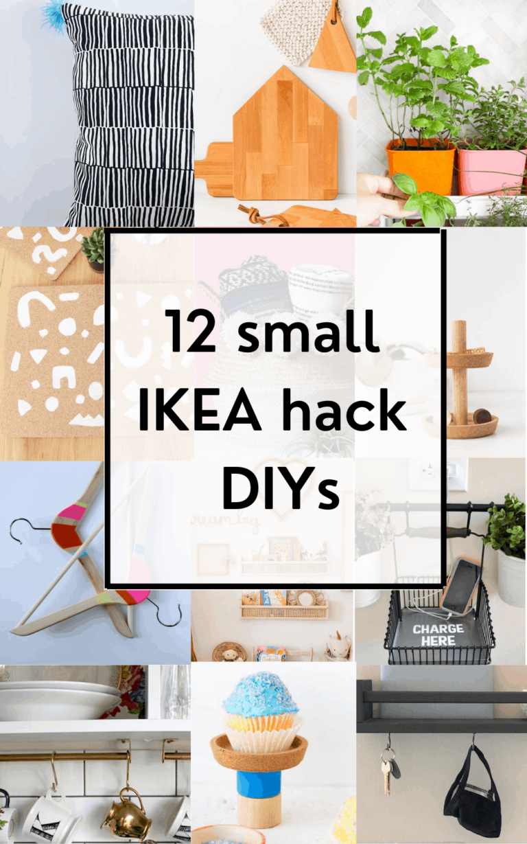 12 Small IKEA Hack DIYs