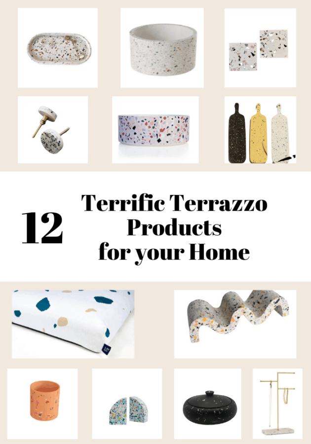 12 Terrazzo products