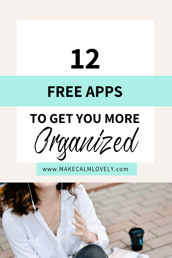 Organizing apps