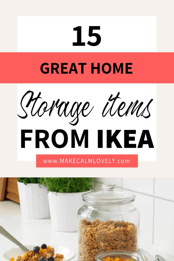 IKEA home storage