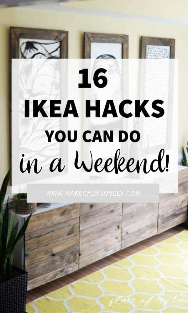 Weekend IKEA Hacks