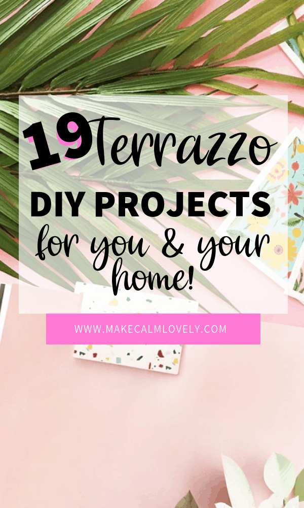 Terrazzo DIY projects