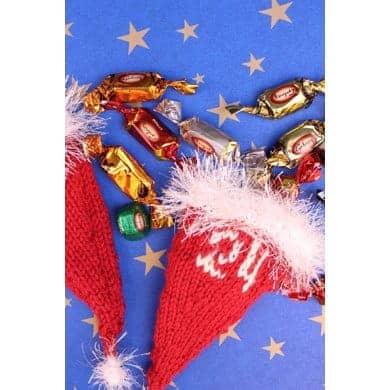 Knitted Santa hats