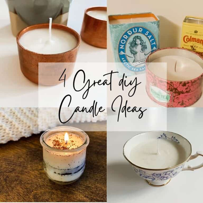 4 Amazing Candles to DIY!