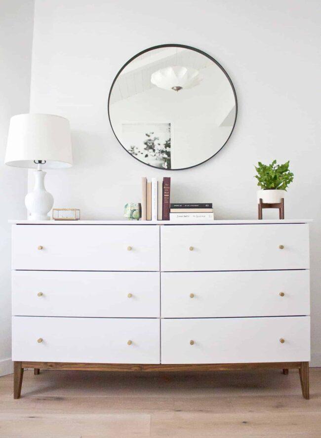 Sleek Mid Century Dresser