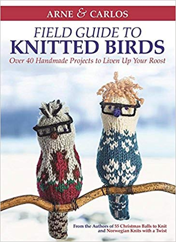 Field guide to knitted birds knitting pattern book