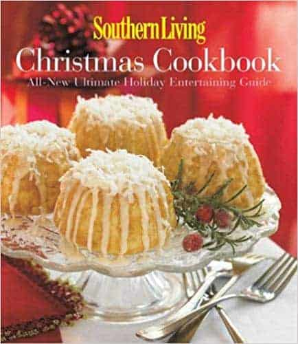 Southern Living Christmas cookbook. Best Christmas cookbooks from Amazon. #Christmas #Holidays #Recipes #Baking #cookbook #cookerybook