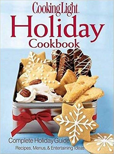 Cooking Light Holiday Cookbook. Best Cook books for Christmas from Amazon. #Christmas #recipes #Holidays #cookbook #cookerybook