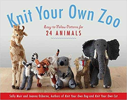 Knit your own zoo animals knitting pattern book