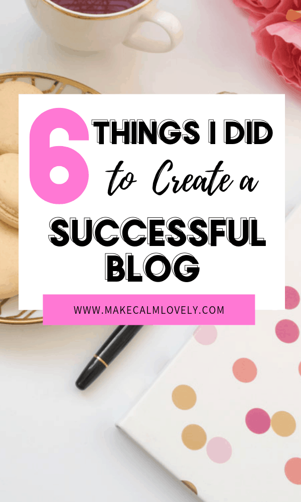 How to create a successful blog