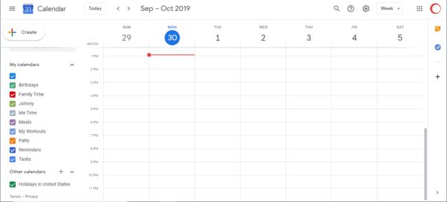 How to use Google Calendar to Create a Family Schedule #Google #GoogleCalendar #time management #schedule