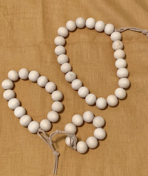 DIY Wooden Bead Trivets