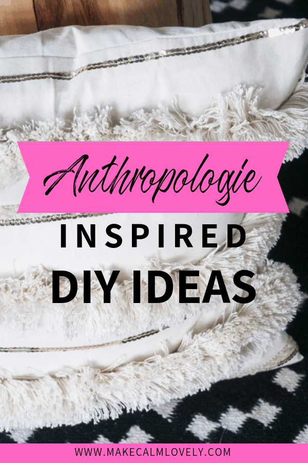 Anthropologie DIY ideas