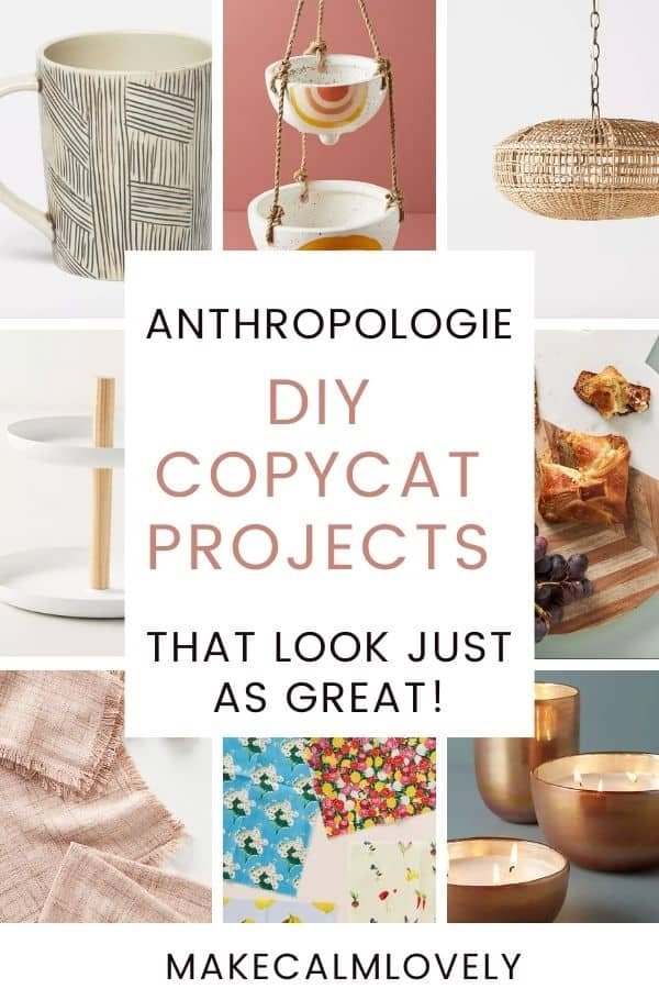 Grid of Anthropologie products.