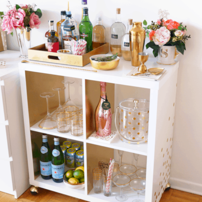 Stylish Bar Carts to DIY for your home