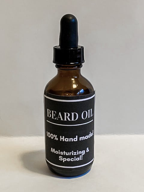 DIY Beard Oil using Essential Oils