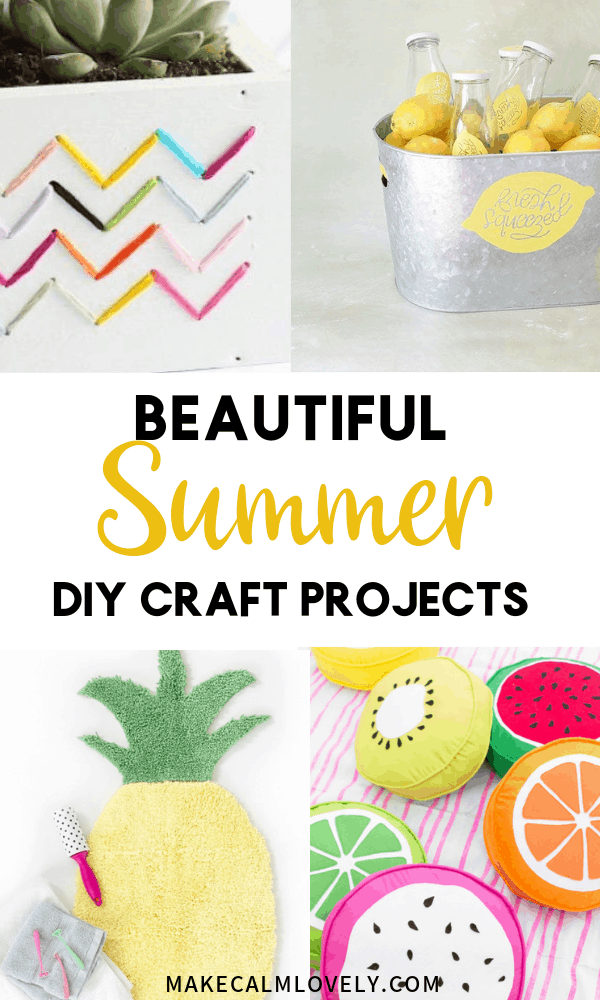 Beautiful Summer DIY Craft projects