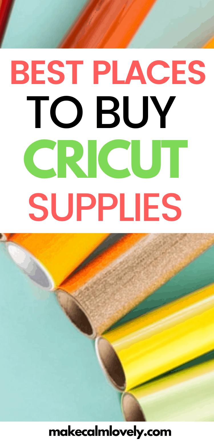 Cricut supplies