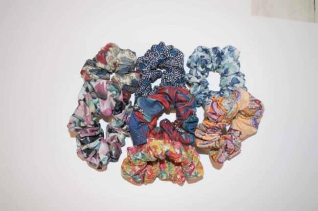 Fabric Scrunchies