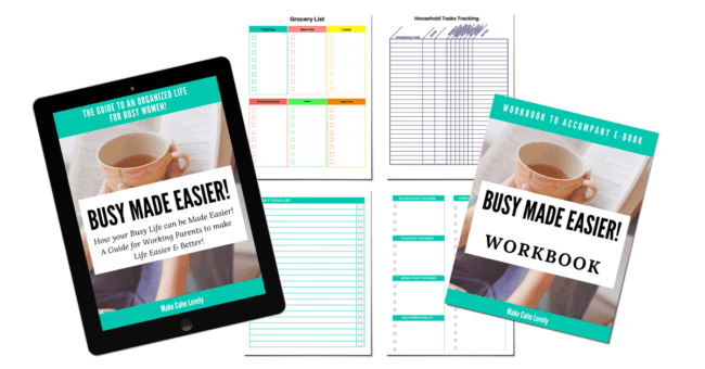 Busy Made Easier #ebook #busy mom #working mom