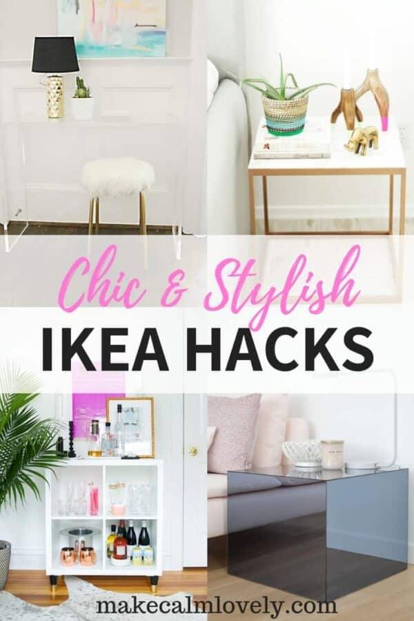 Chic & stylish IKEA hacks