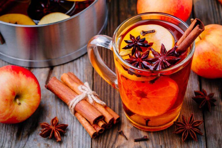 Slow Cooker Hot Spiced Apple Cider