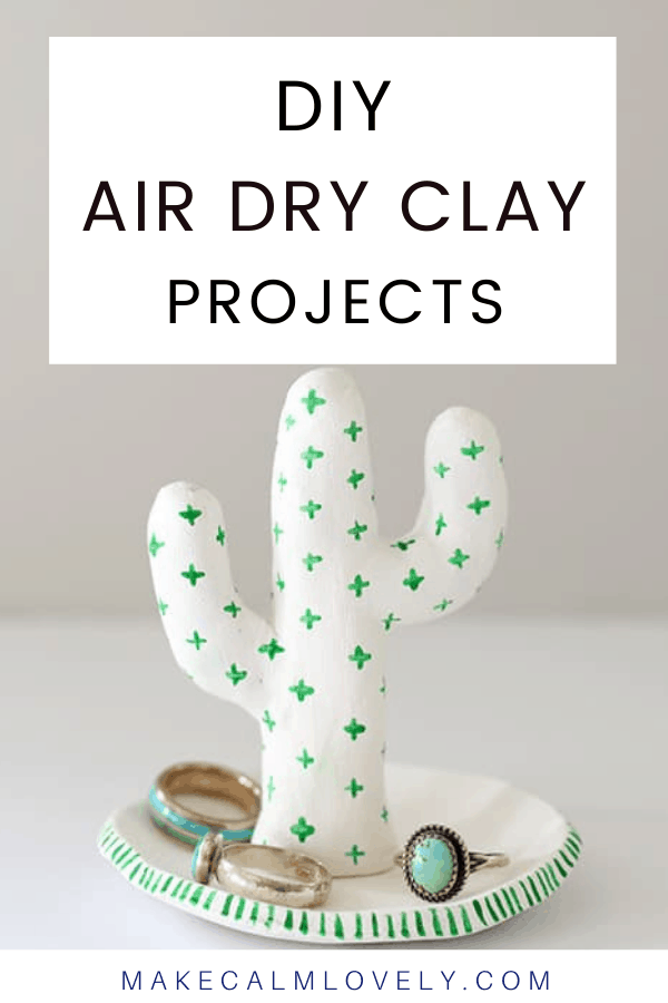 Air Dry Clay DIY Projects