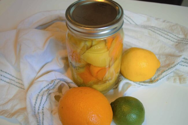 DIY homemade Citrus All Purpose Cleaner