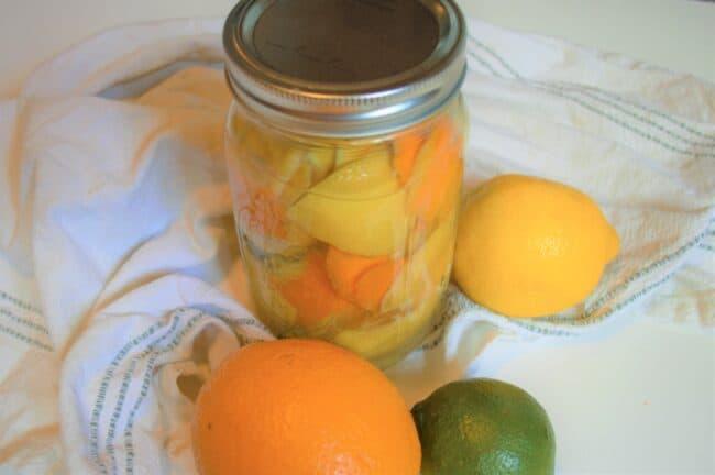 DIY Homemade All Purpose Citrus Cleaner