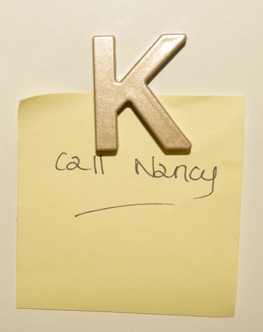gold alphabet magnets