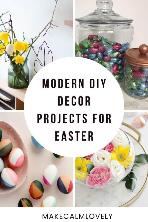 Modern Easter DIY ideas