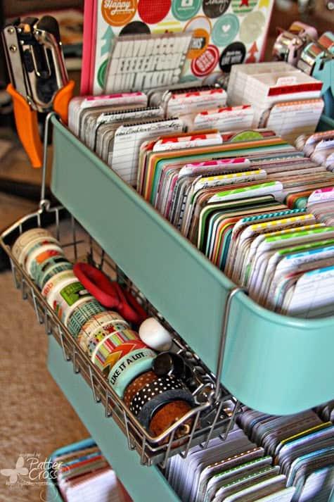 15 Great uses for the IKEA Raskog cart #IKEA #IKEA Hacks #Hacks #Raskog #cart