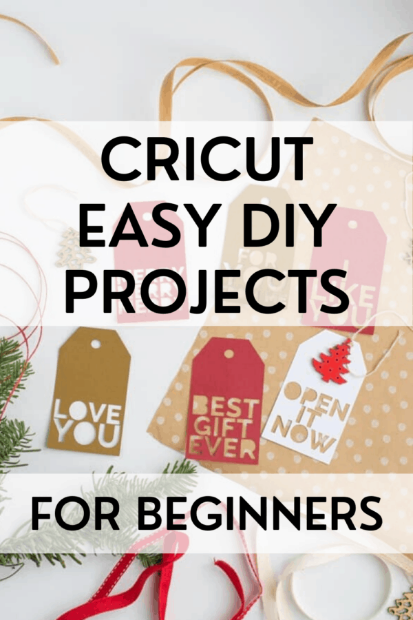 Cricut Easy DIY Projects for Beginners