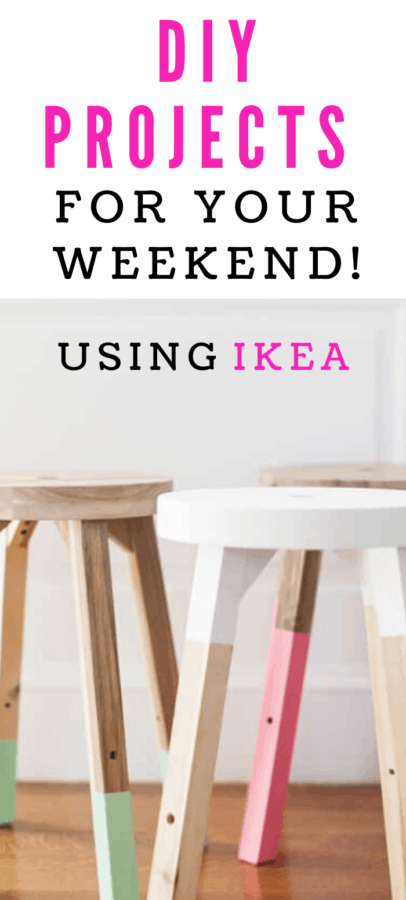 DIY Projects for your weekend using IKEA Products!