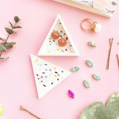 19 Faux Terrazzo DIY Projects for you and your Home