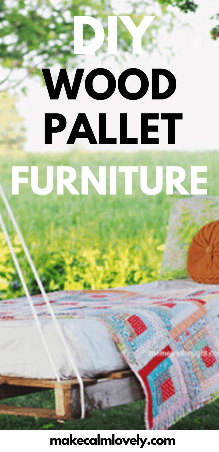DIY Wood Pallet Furniture Ideas