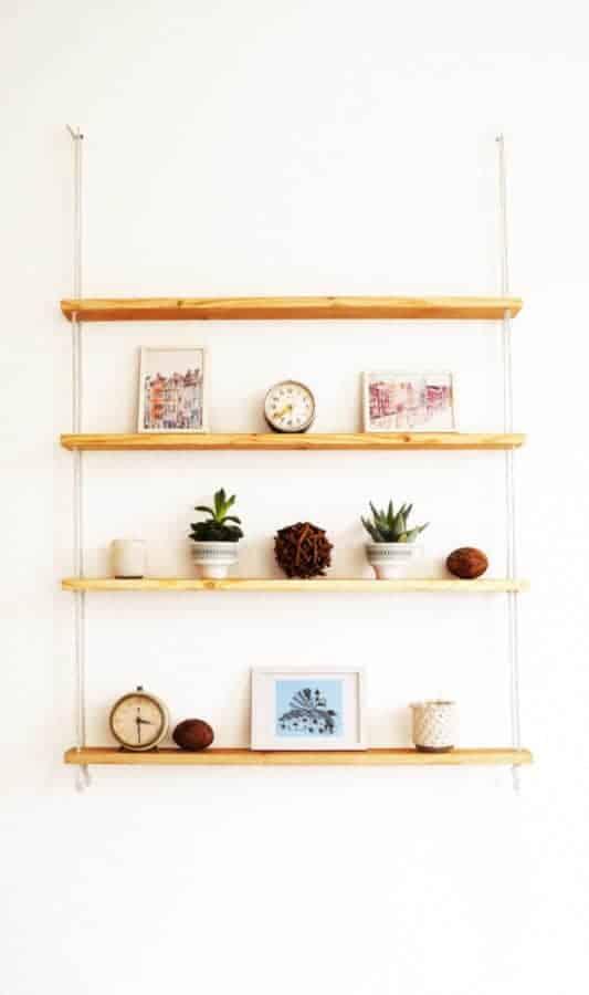 Hanging IKEA shelf