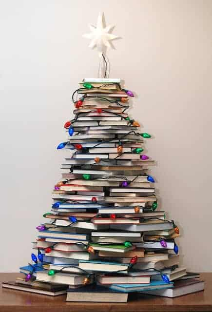Literary Christmas Tree
