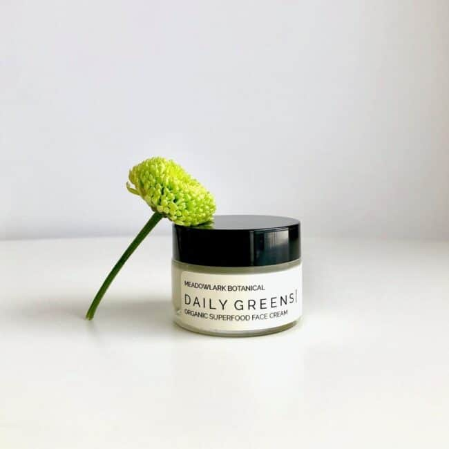 Daily greens face cream