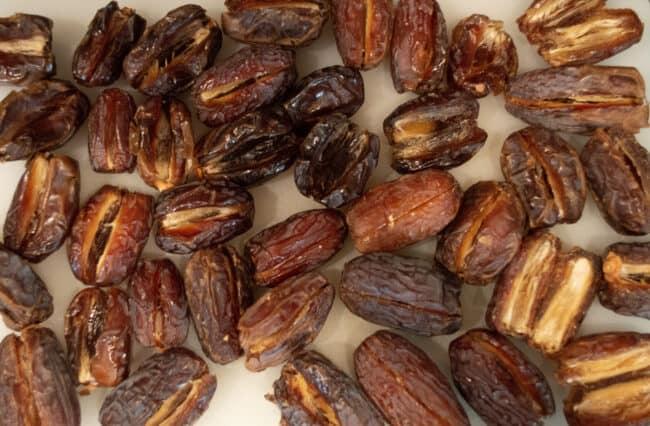 Medjool dates.