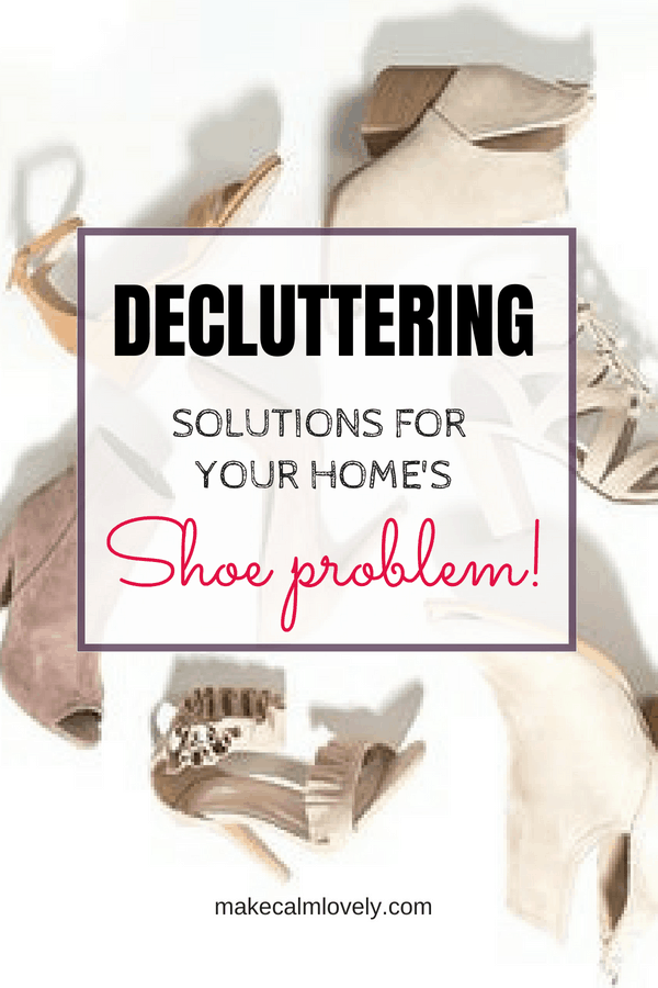 Decluttering solutions for your home's shoe problem