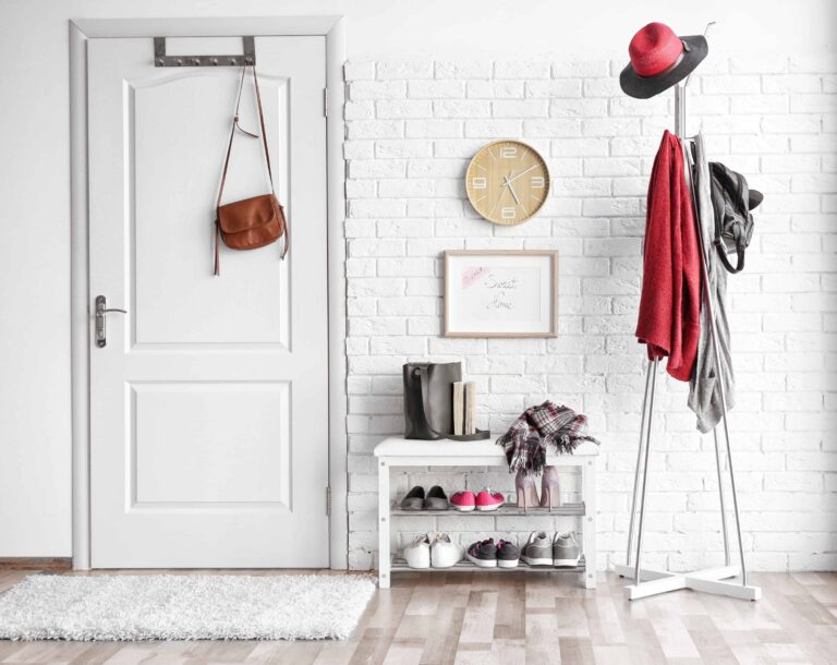 12 Amazing Home Entryway Storage Ideas & Solutions