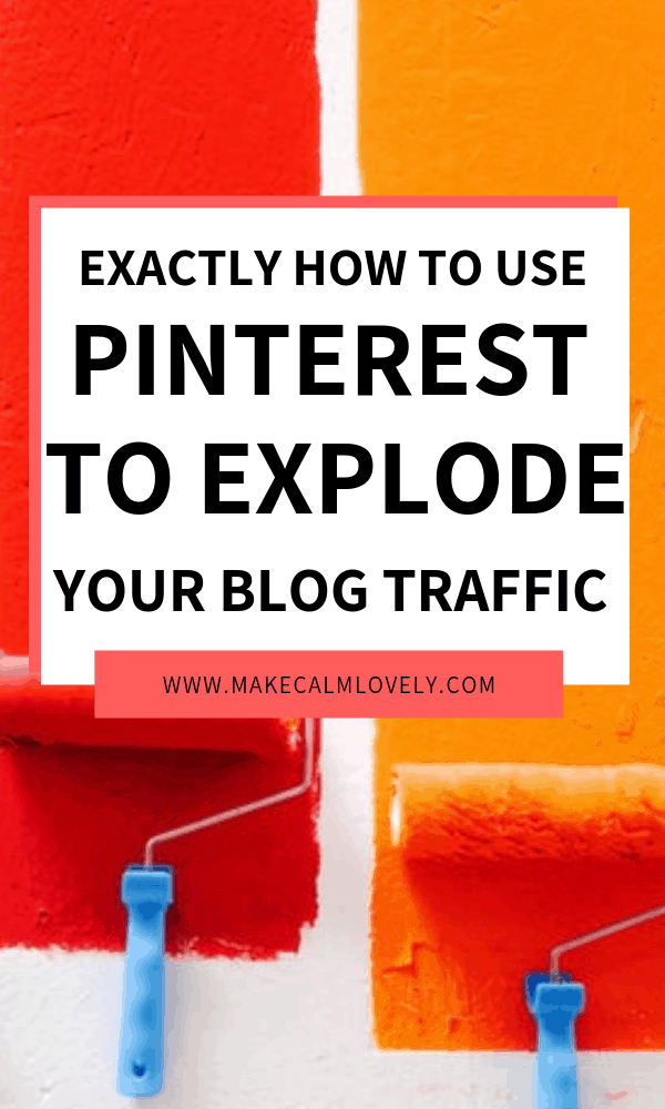 Pinterest for blog traffic