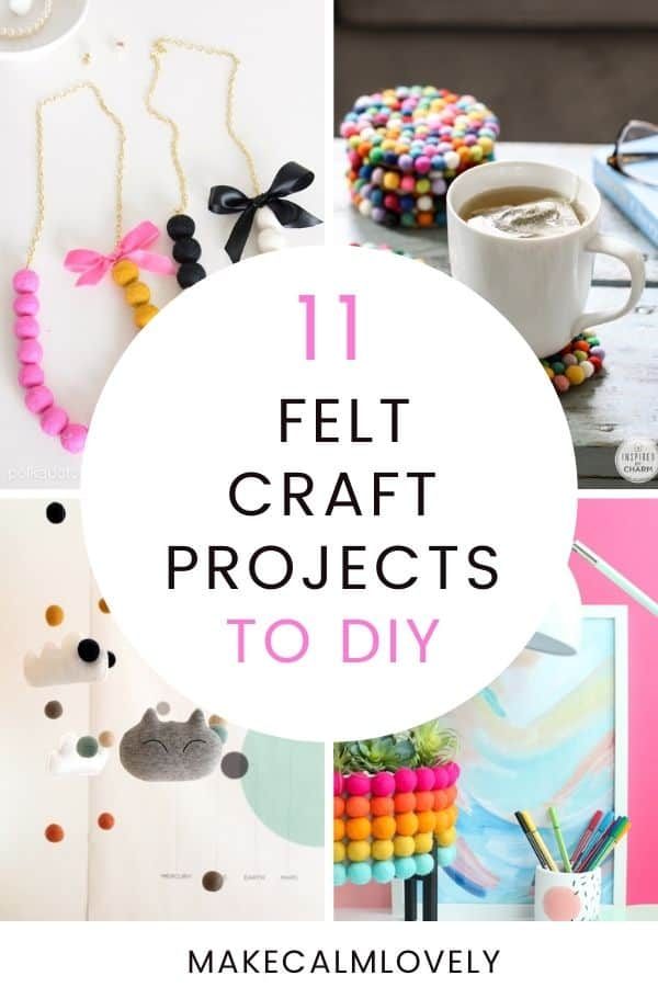 Felt Craft DIY Projects
